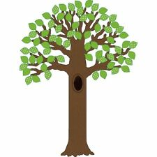 Big Tree with Polka Dot Leaves Bulletin Board Teacher Created Resources Tcr5435