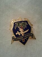 Authentic US Army 551st Airborne Infantry Regiment Unit DI DUI Insignia NH