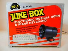 Wolo Jukebox Model 336 Car Horn-34 Programmed Songs-Vgc-12v-Free Shipping