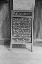 Restaurant Daily Specials Sign Board Key West FL Florida 1938 View 8x12 photo