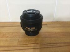 Nikon Nikkor Af 2183 35-35 mm F/1.8 af-DX G Lente S L