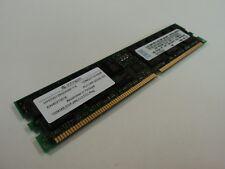 Infineon RAM Memory Module 1GB PC2100R CL2.5 ECC 184 Pin HYS72D128320GBR-7-B