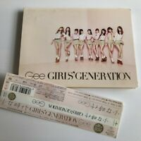 GIRLS' GENERATION Gee JAPAN CD + DVD w/OBI Free Shipping