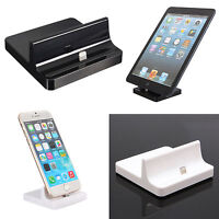 USB Sync Dock Docking Base Station Charger Cradle Stand for iPad Air 2 iPhone