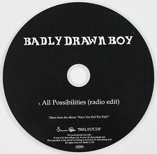 BADLY DRAWN BOY All Possibilities (radio edit) CD single PROMO