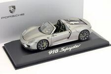 Porsche 918 Spyder IAA 2013 liquid metal silber 1:43 Minichamps