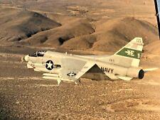 LTV A-7 Corsair II and Grumman A-6 Intruder Inflight Navy VX-5 Vampires