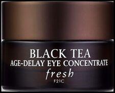 Fresh Black Tea Day Night Eye Cream Anti Aging Depuffing Firming Skin Treatment