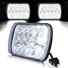 1PC 7x6 Sealed Beam CREE LED Headlight HID Bulbs Crystal Clear Hi/Lo Headlamp
