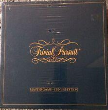 TRIVIAL PURSUIT MASTER GAME GENUS EDITION NO. 7 SEALED BOX 1981 VINTAGE