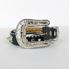Nocona Belt Co Girls' Western Horse and Rhinestone Belt Size 22