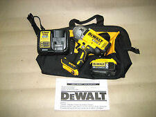 (1) DEWALT DCF899HBXP Impact Wrench with 5AH Battery, Charger & Bag. Free S&H