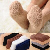 Extremely Cozy Cashmere Socks Men Women Winter Warm Sleep Bed Floor Fluffy Du