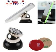 New Rotating 360° Magnetic Mount Car Dash Mobile Holder / Hold Phone For GPS UK