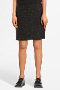 Molly Bracken - Jupe Droite Courte Style Couture noire taille M à - 20%