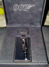 dupont james bond 007 leather key ring & push button lamp model  0964370