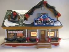 Dept 56 Snow Village Marjorie's Blue Ribbon Baked Goods Retired