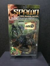 SPAWN THE DARK AGES Iguantas and Tuskadon SEALED IN BOX Action Figure