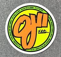 Santa Cruz OJ II Elites Wheels Skateboard Sticker 3in si