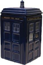 DOCTOR WHO TARDIS Ceramic Money Bank NEW In Box * coin savings safe