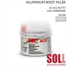 SOLL ALUMINIUM BODY FILLER PUTTY 0.2kg Alu Professional Car Repair
