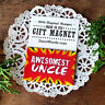 "DECO MAGNET 2""x3"" AWESOMEST UNCLE Fridge Magnet relatives family names USA"