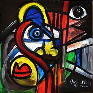 "Peter Robert Keil: Gemälde ""Omage to my friend Pablo Picasso 1"""