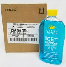 Ocean Potion Ice+ Skin Repair Soothing Gel Case of 6 20.5 Ounce 01/2020
