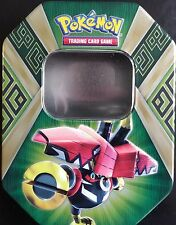 Pokemon* Tapu Bulu - EMPTY TIN (NEW UNUSED) - GREAT FOR CARD STORAGE/HOLD CARDS