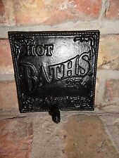 Antique Inspired, Cast Iron Wall Hook, Nostalgia Bathroom Sign, Wall Hooks,