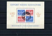 Gemeinschaftsausgaben - Sonderblatt - Hannover Messe 1948 mit SST