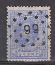 NVPH Netherlands Nederland 19 TOP CANCEL SNEEK (99) Willem III 1872