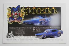 The Joker Army Armstrong Funny Car The Fun Factory Photo Hero Promotional Card