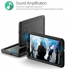 Poetic Turtle【Heavy Duty】Silicone Case For Samsung Galaxy Tab A 8.0 (2017) Black