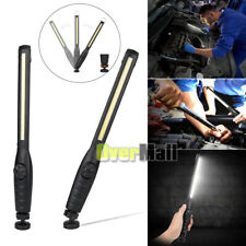 USB Rechargeable COB LED Emergency Car Work Torch Light Lamp Flashlight Magnetic