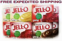 Jell-O  Instant Putting Low Calorie Gelatin Dessert Mix 6oz. Kitchen Food JellO
