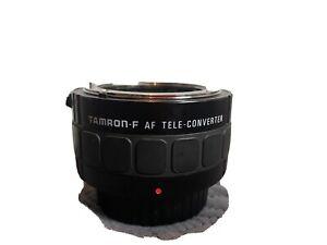 Tamron teleconverter X2 Nikon F