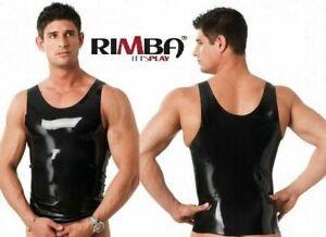 Mens  Rubber latex Vest / T shirt