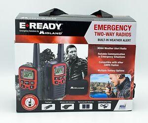 New Midland Radio E+Ready EX37VP Emergency Two Way Radio Kit T31 Walkie Talkies