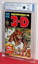 ADVENTURES IN 3-D, #1 Graded 9.3-NM, Midwest Comic Grading-MCG- 1953 Harvey