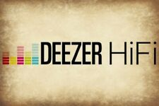 Deezer HIFI Plan High Quality for 12 Months (Works On Any Device) FAST DELIVERY