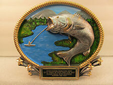 Bass Fishing Award Trophy Free Engraving Shipped 2 Day Priority Mail Gift Box