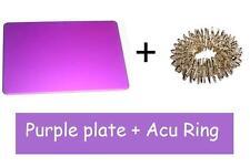 Inspired by Tesla and Linda Goodman Healing, Purple Plate Credit Card + Acu Ring