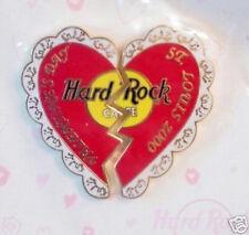 Hard Rock Cafe ST. LOUIS 2000 VALENTINE'S DAY PIN Broken Heart
