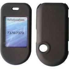 CUSTODIA RIGIDA COVER CRYSTAL CASE BLACK MAT per NOKIA 7373 7370