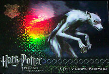 HARRY POTTER POA FOIL WEREWOLF PUZZLE CHASE CARD R8-PRISONER OF AZKABAN UPDATE