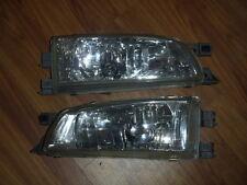 JDM Subaru Impreza GC8 GF8 GF1 WRX STI CRYSTAL GLASS MADE KOUKI HEAD LIGHTS OEM
