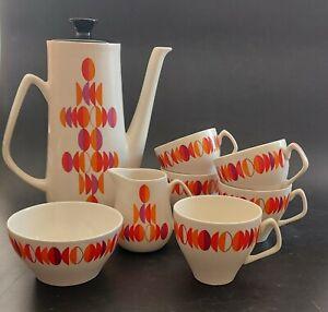 Retro mid century 1960s Empire Eclipse coffee set - sold individually