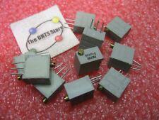 Beckman 10r 10 Ohm Multi Turn Trimmer Potentiometer 68wr10 Nos Qty 10