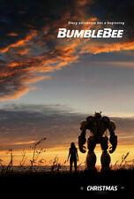 BUMBLEBEE MOVIE POSTER 2 Sided ORIGINAL Advance 27x40 TRANSFORMERS JOHN CENA